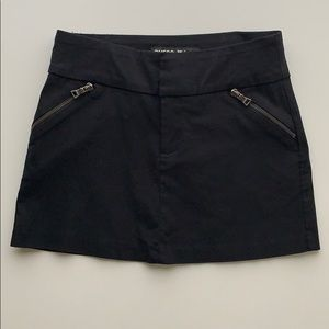 Guess Jeans Black Mini Skirt